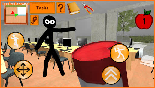 Stickman Teacher. Neighbor School Escape 3D screenshot