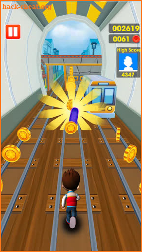 Subway Ryder Paw Runner Dach screenshot