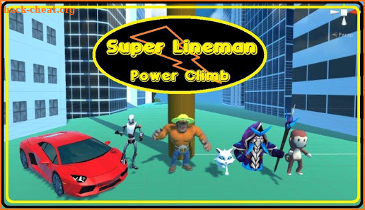 Super Lineman Power Climb screenshot