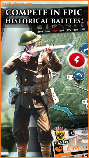 Supremacy 1: The Great War Strategy Game screenshot