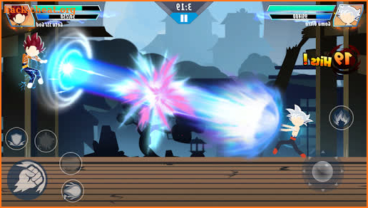 Supreme Stickman Dragon Fighting screenshot