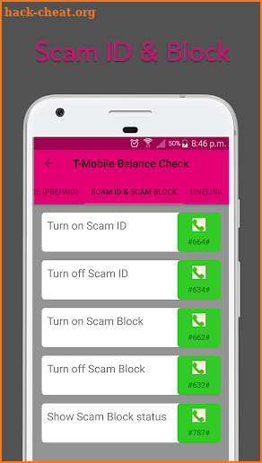 T-Mobile Balance Check App screenshot