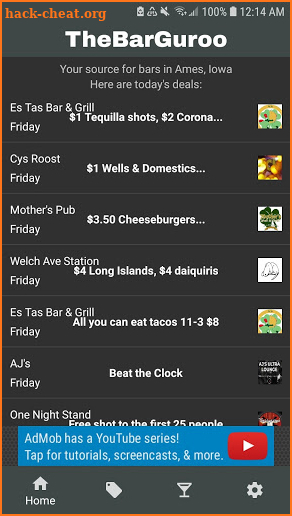 TheBarGuroo - Ames, Iowa Bar Deals Hacks, Tips, Hints and ...