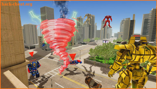 Tornado Robot Simulator: Tornado Robot Warfare screenshot