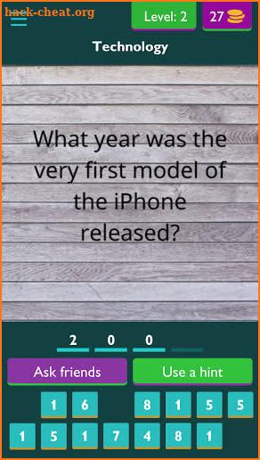 Trivia Quiz : Questions & Answers 2021 Hacks, Tips, Hints ...