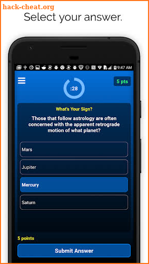 Trivnow - Trivia Night screenshot