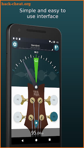 Ultimate Bass Tuner🎸Free tuner for bass screenshot