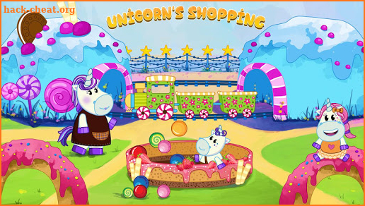 Unicorn family: Magic supermarket screenshot