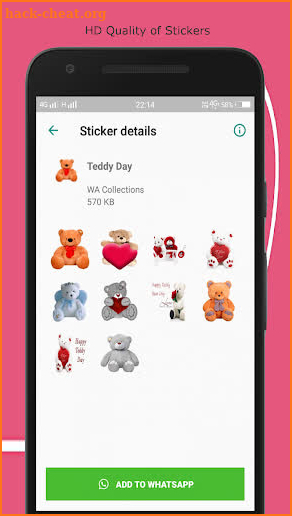 Valentine Day Stickers for love(All DaysWASticker) screenshot
