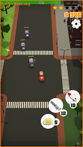 Vigilante chase drift: Drive, destroy, escape cops screenshot