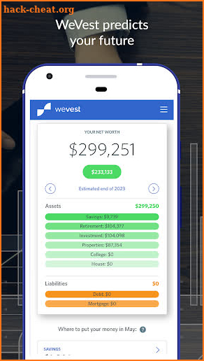 WeVest Financial Planning & Advisor screenshot