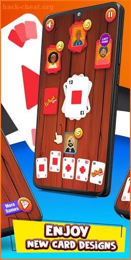 Whot King: Fun Card Matching Game - free + offline screenshot