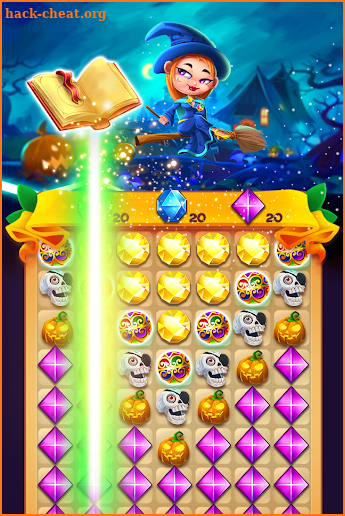 Witch Jewel Puzzle screenshot