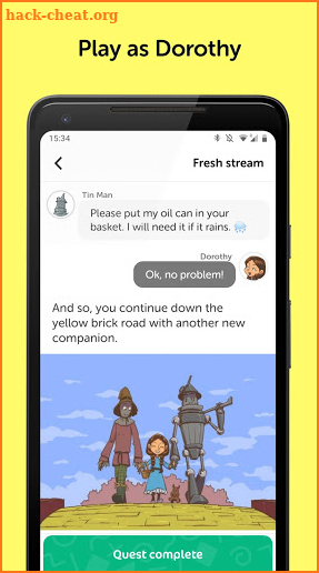 Wizard Of Oz - Chat Adventure screenshot