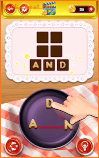 Word Cook Fever screenshot
