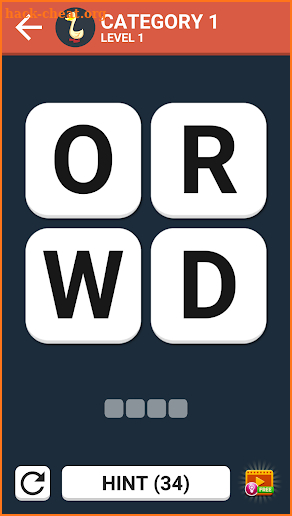 Word Game Puzzle : Brain & Mind screenshot
