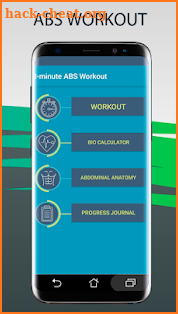 Workout ABS. Lose all fat with AppFit screenshot