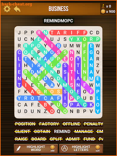 Wow Search: Classic Word Search screenshot
