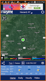 WYMT Radar screenshot