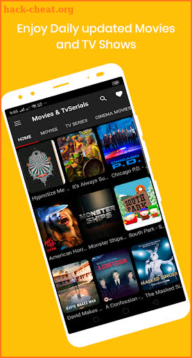 Yes Movies - Watch Box Movies & TV Shows Online screenshot