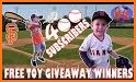 Hit A Gift - Play baseball for free giveaways related image