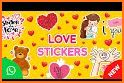 Love Stickers For WhatsApp-Emoji Gif WAStickerApps related image