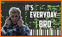Jake Paul It's Everyday Bro Piano Tiles related image