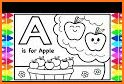 ABC Coloring Pages - Abc coloring book Games related image