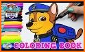 Paw Coloring Book related image